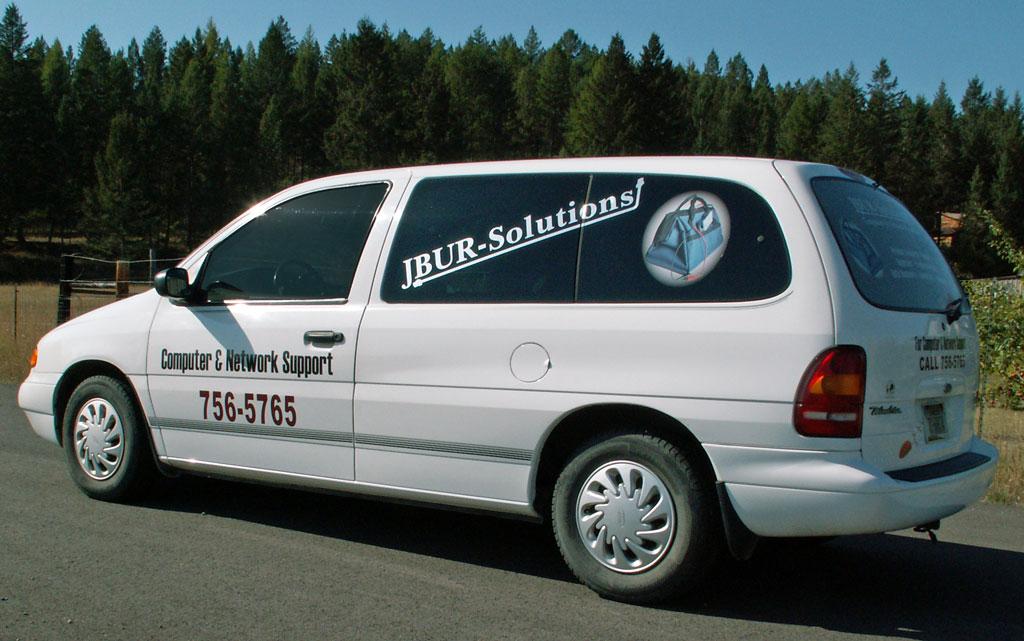 JBUR-Solutions's Van